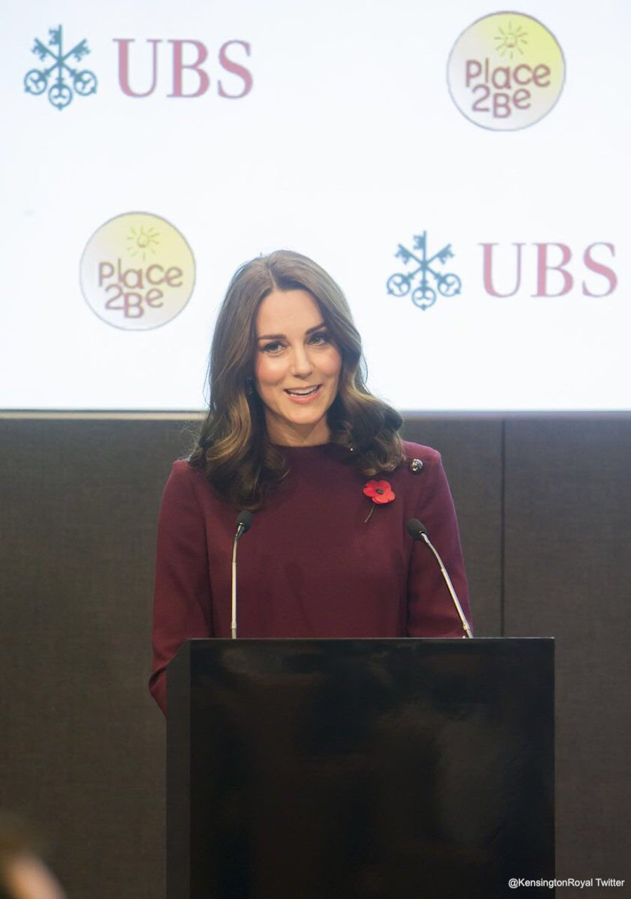 Kate Middleton at the Place2Be Conference
