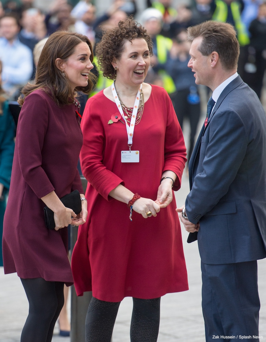 Kate Middleton at the Place2Be Forum in London