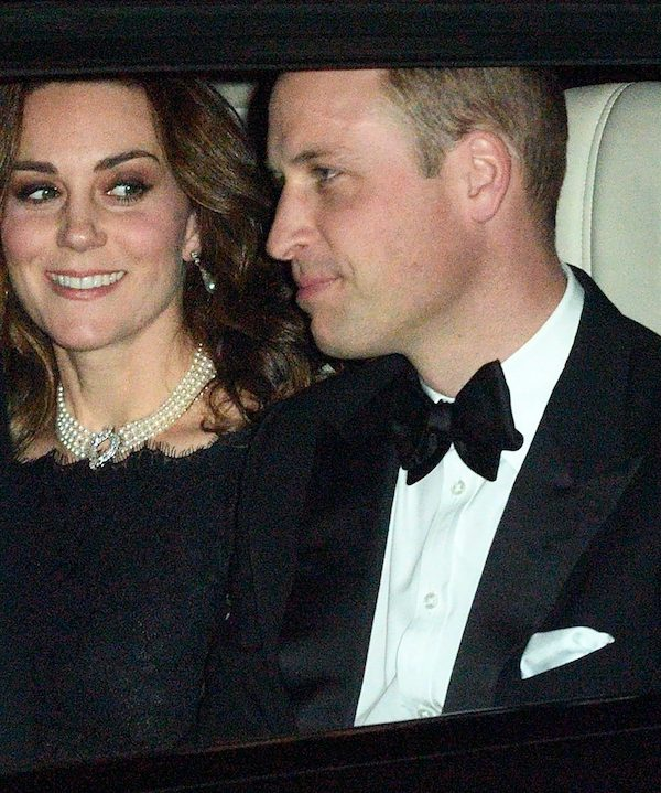 William and Kate attend the Queen's 70th anniversary celebration