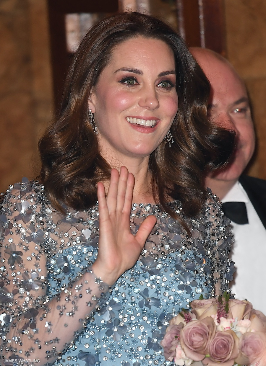 Kate Middleton at the Royal Variety Performance