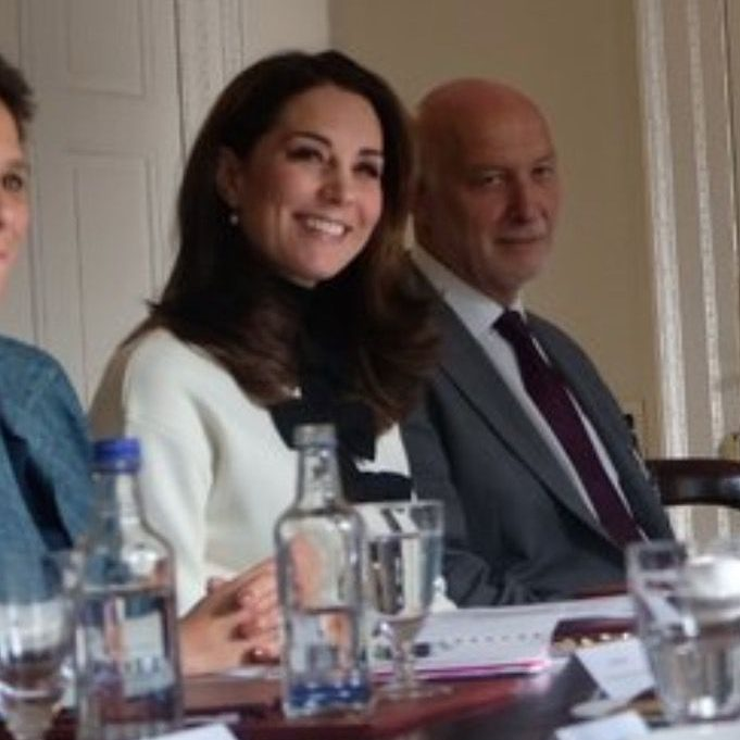 Kate Middleton at the Maternal Mental Health event