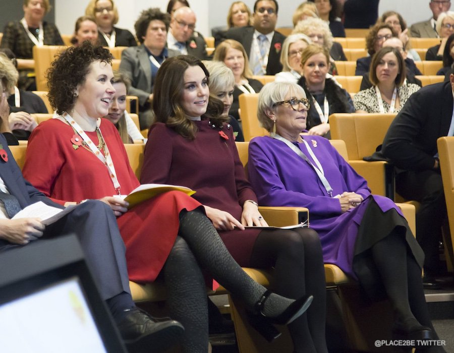 Kate Middleton at the Place2Be School Leaders Forum