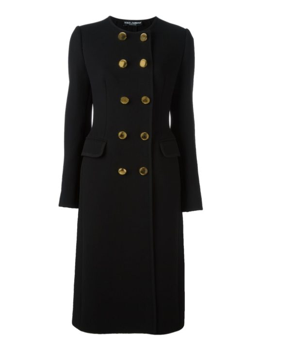 Black Dolce & Gabbana Coat