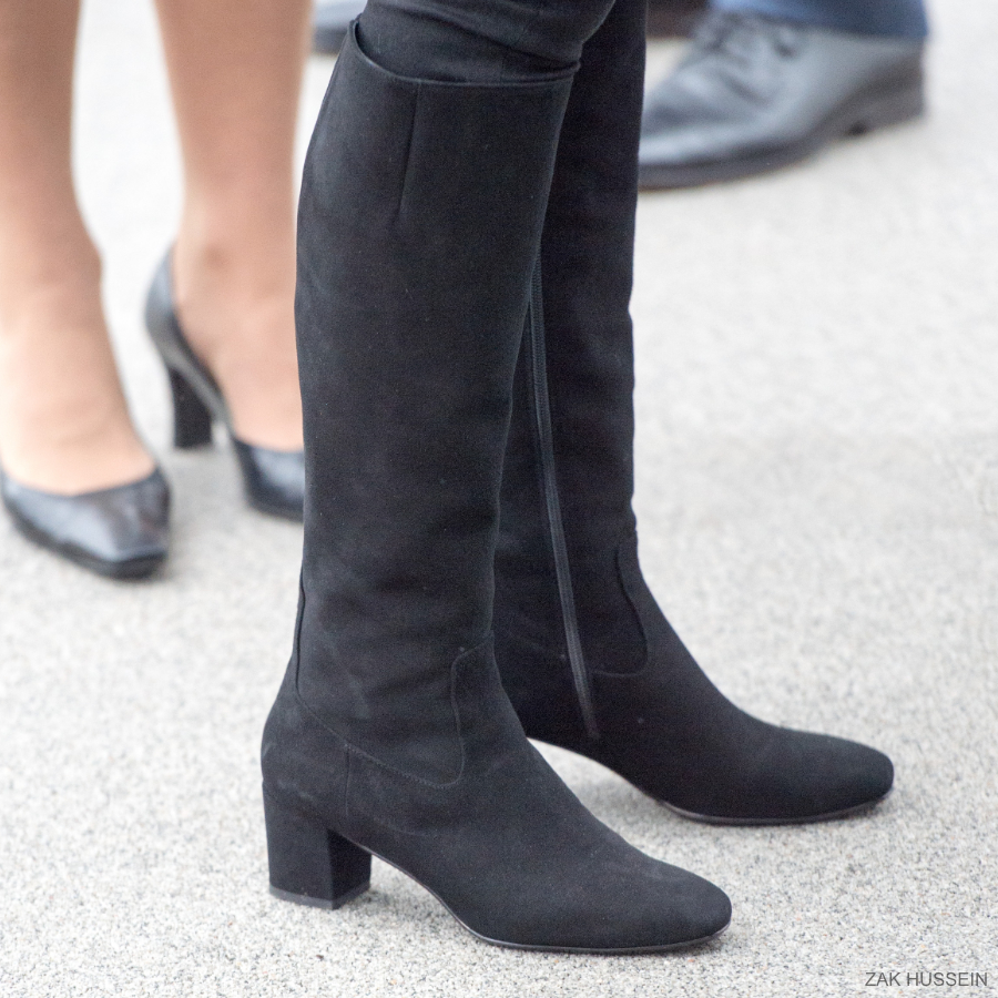Kate Middleton's R&B Boots in Birmingham