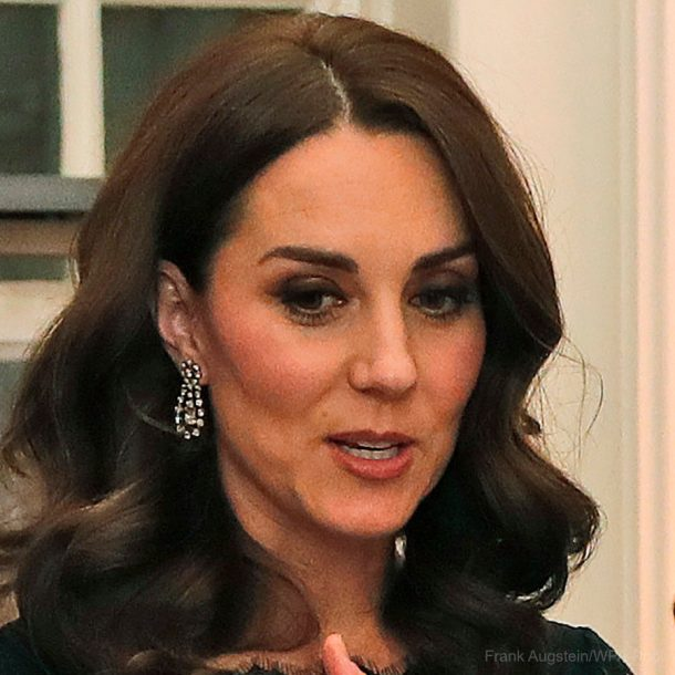Kate Middleton's diamond earrings