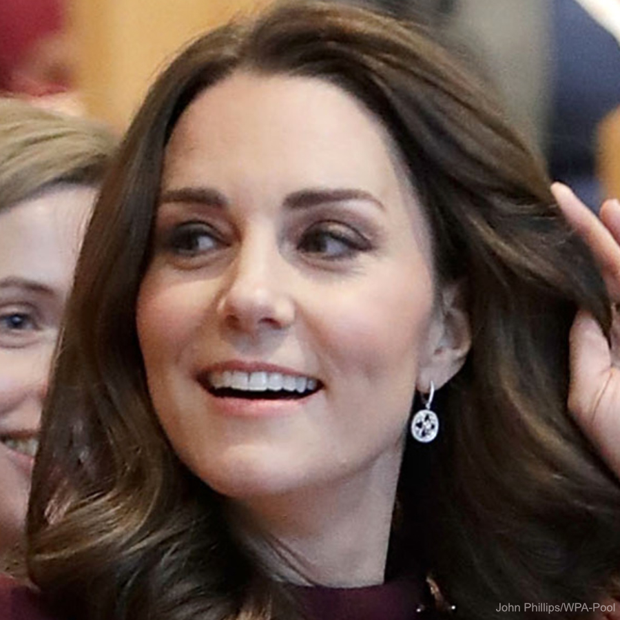 Kate Middleton's diamond earrings at the Place2Be conference