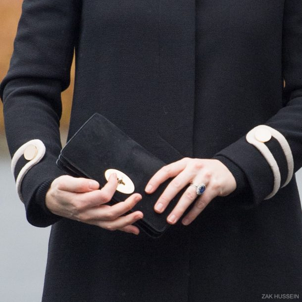 Kate Middleton's Mulberry Bayswater Clutch