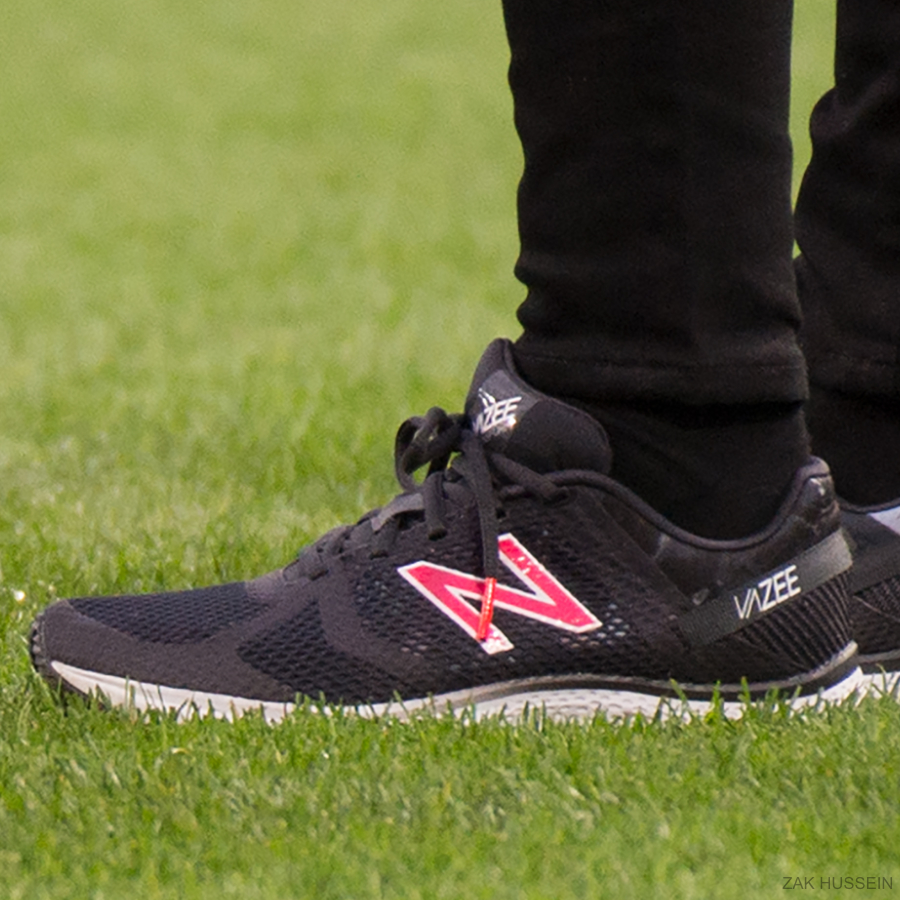 Kate Middleton's New Balance trainers in Birmingham