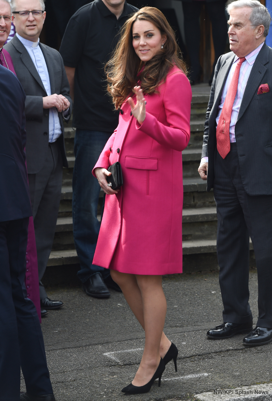Kate Middleton Pregnant with Princess Charlotte in 2015