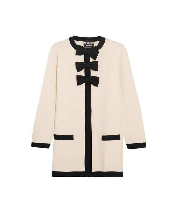 Moschino Boutique Bow Cardigan