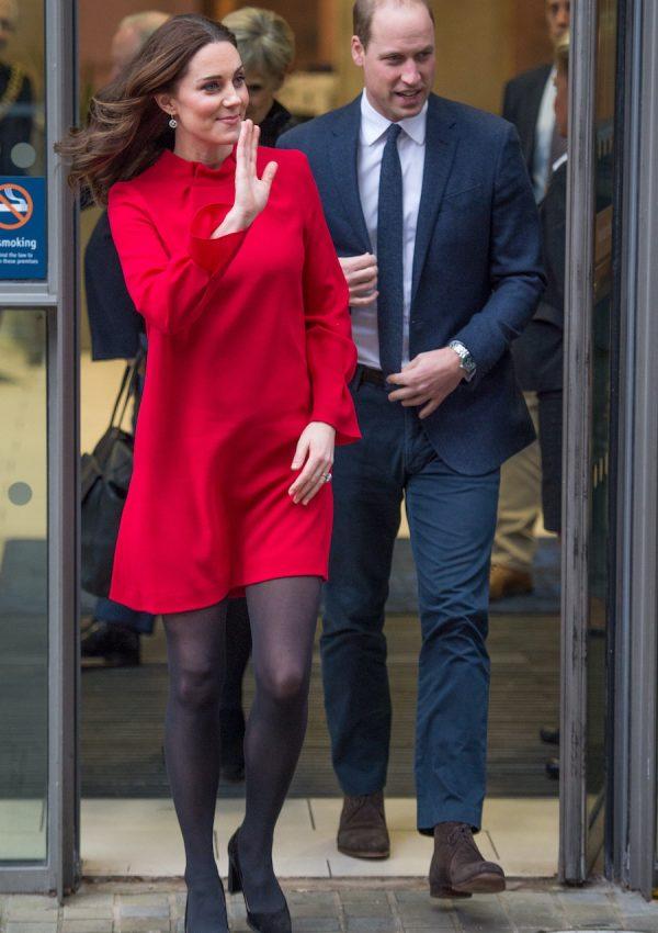 Kate Middleton wearing the Goat Elodie Dress