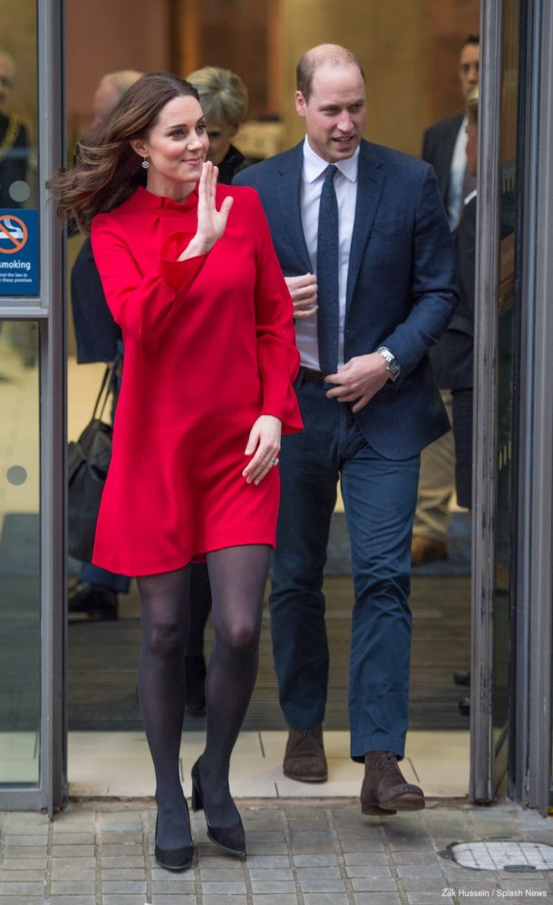 Kate Middleton wearing the Goat Elodie Dress