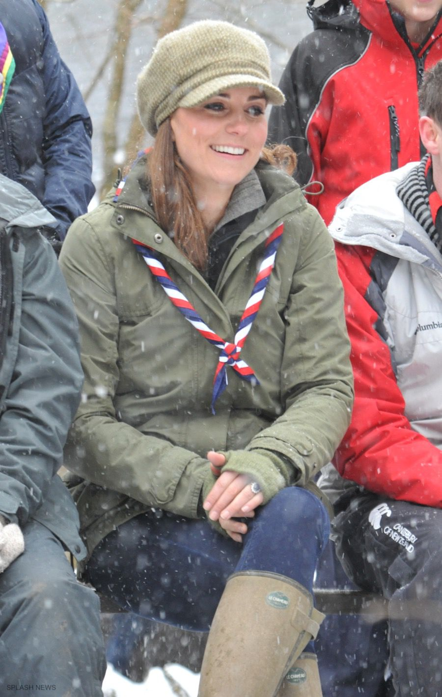 Kate Middleton wearing Le Chameau Boots