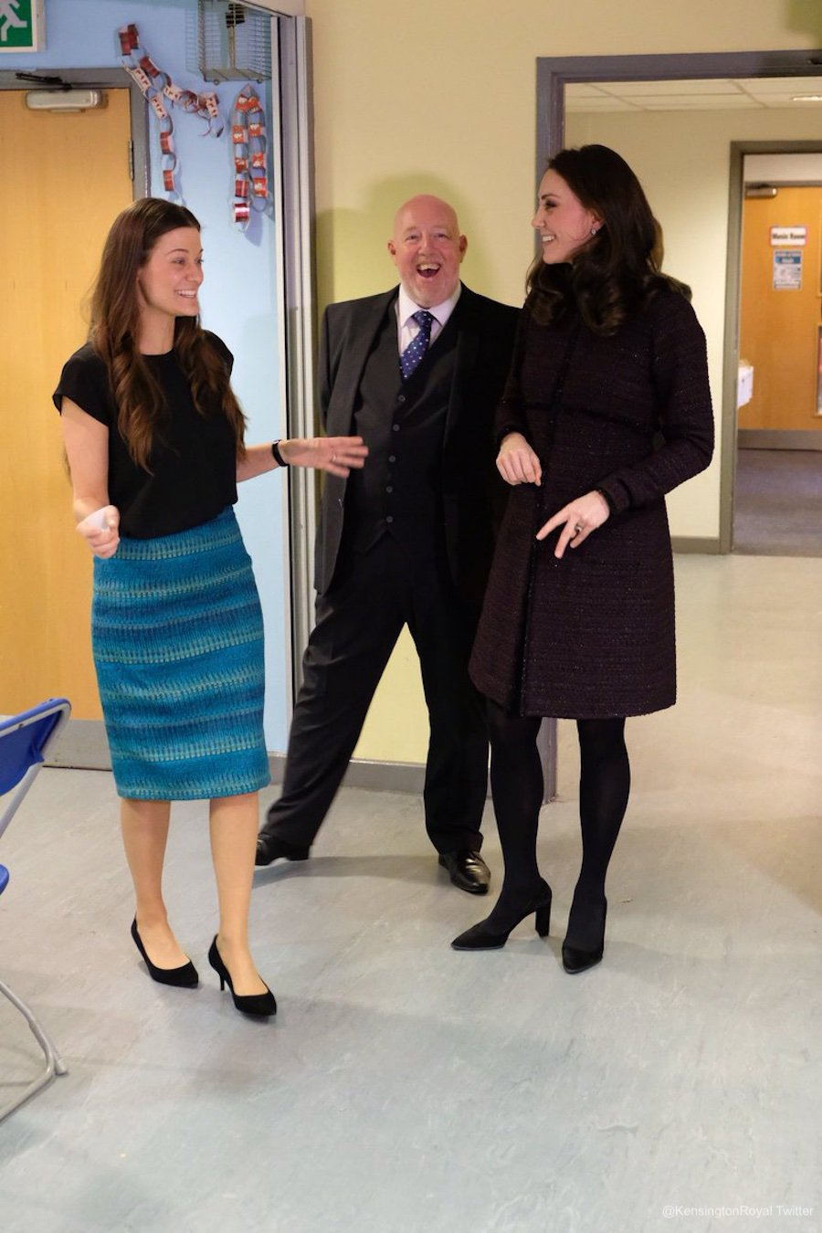 Kate Middleton at the Rugby Portobello Trust