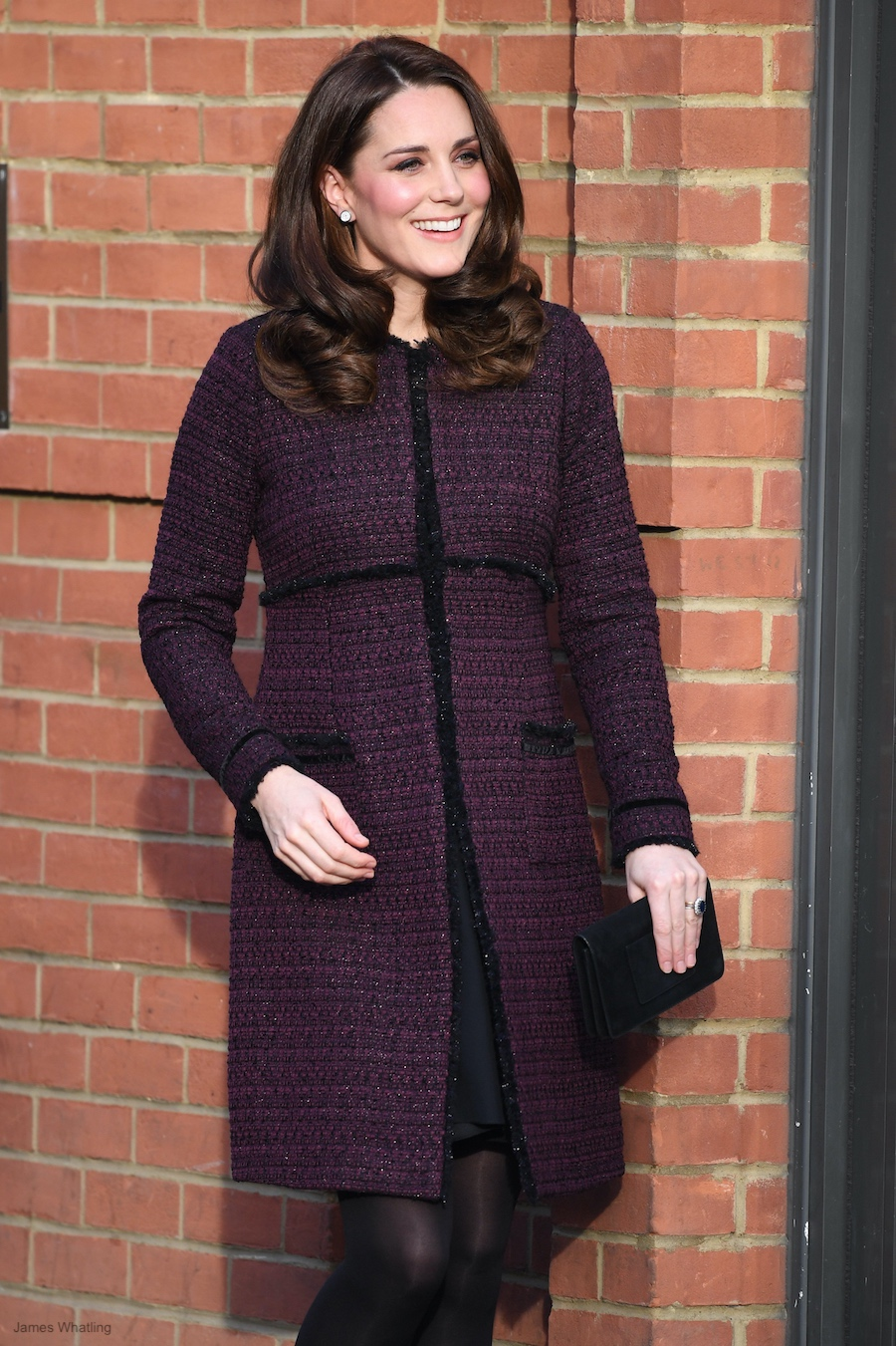 Kate Middleton visits the Rugby Portobello Trust Visit 2017