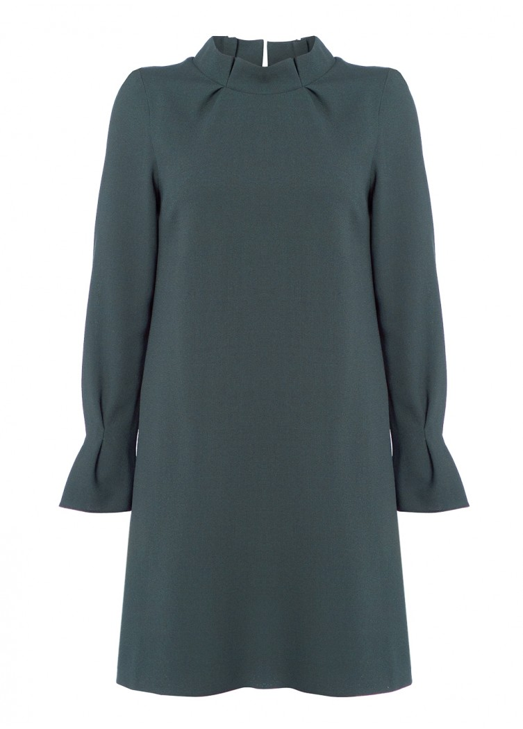 Goat Elodie Tunic Dress in Green