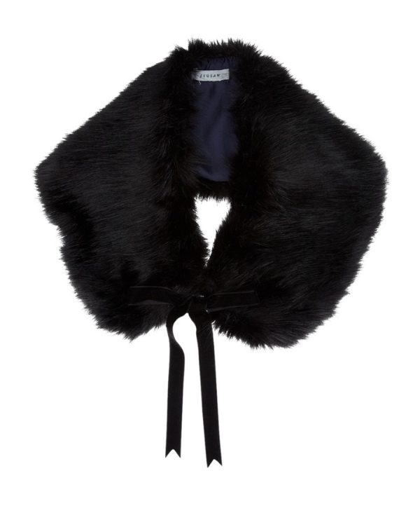 Kate Middleton wearing a faux fur collar