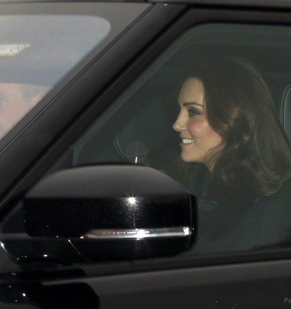 Kate attends the Queen's Pre-Christmas Luncheon at Buckingham Palace