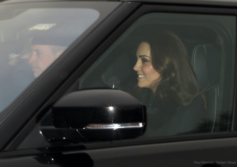 Kate Middleton attending the Queen's pre-Christmas Luncheon at Buckingham Palace