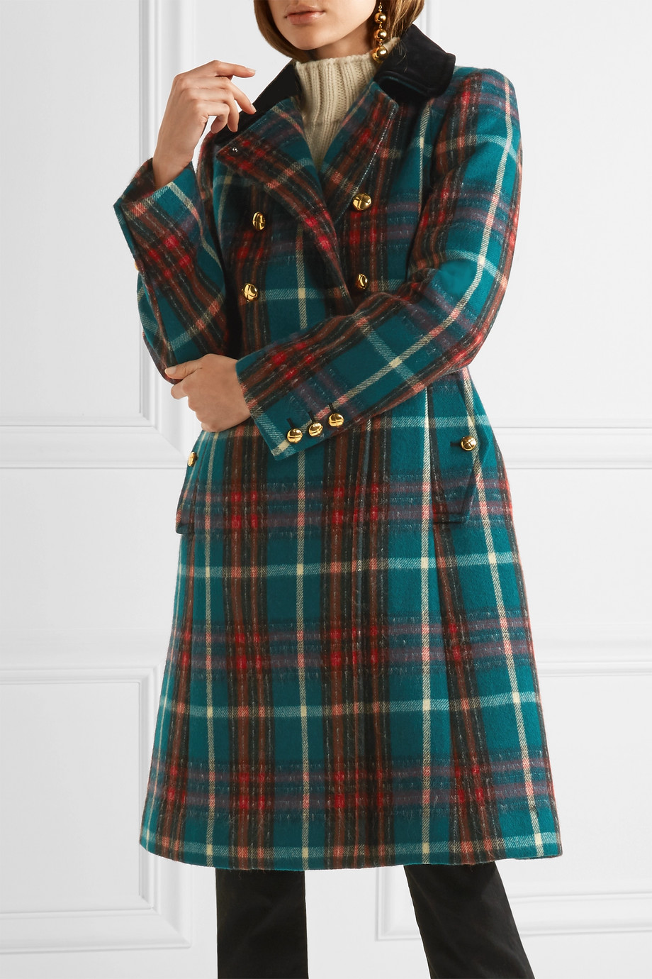 search for authentic biggest selection best cheap Miu Miu Tartan Coat · Kate Middleton Style Blog