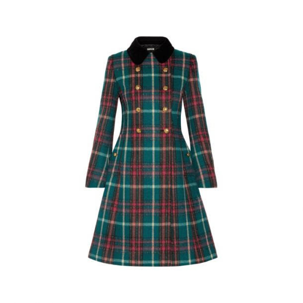 Miu Miu Tartan Coat · Kate Middleton Style Blog