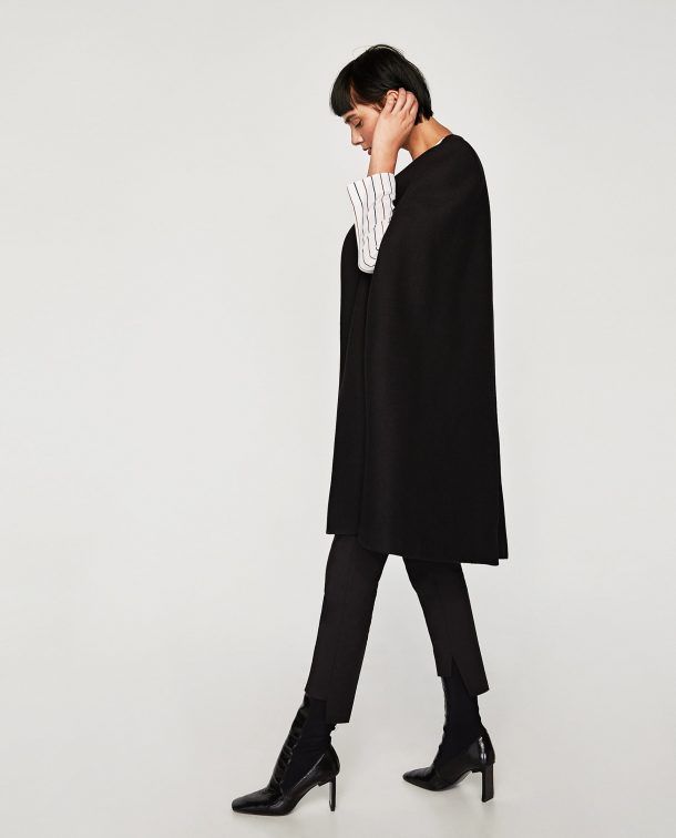 Zara long line cape