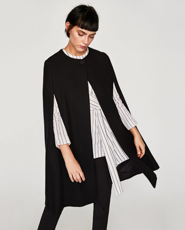 Zara Cloth Cape