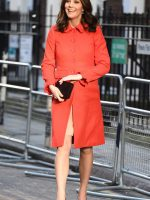 Kate wears Boden for Great Ormond Street Hospital visit
