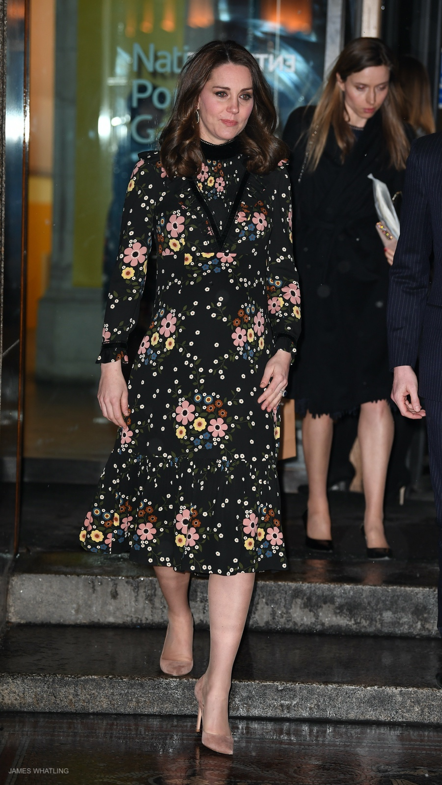 Kate Middleton wearing Orla Kiely