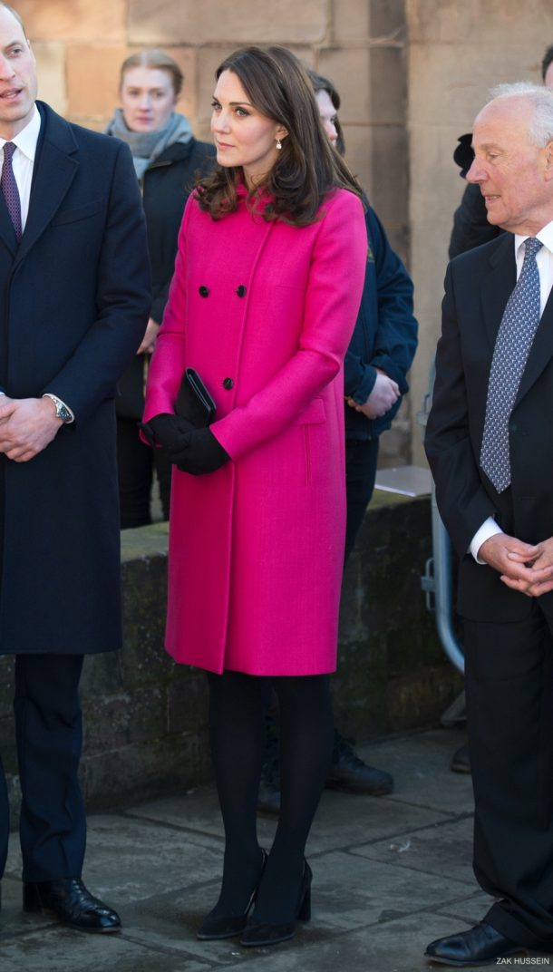 Kate Middleton visiting Coventry