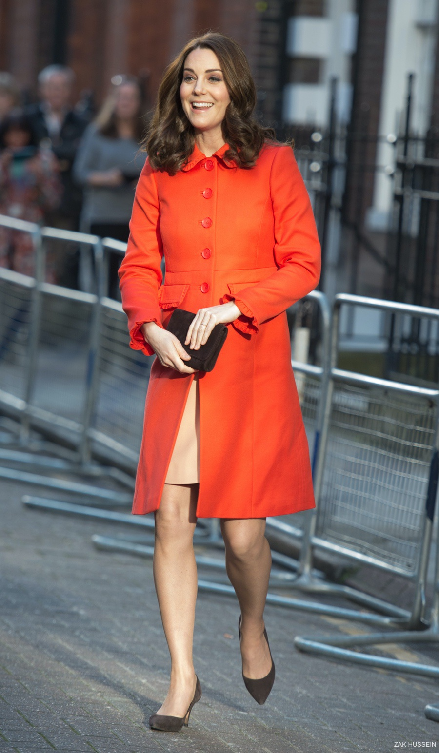 Kate Middleton wears Boden to Great Ormond Street Hospital