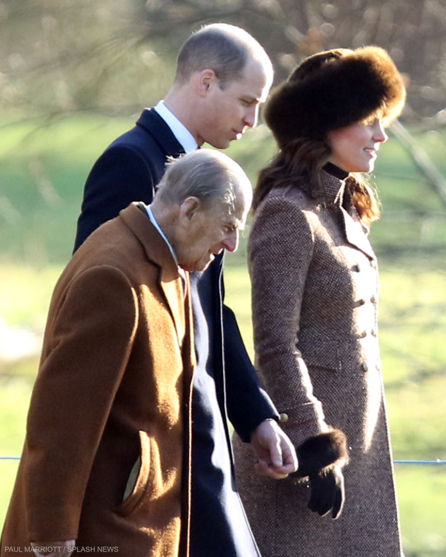 Kate Middleton wearing her Cornelia James Clementine Gloves in brown