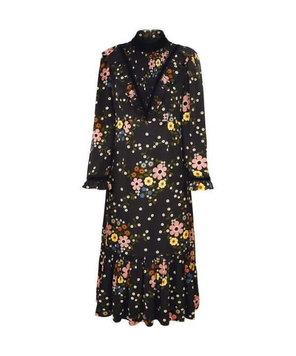 Orla Kiely x Leith Margaret Smock Dress