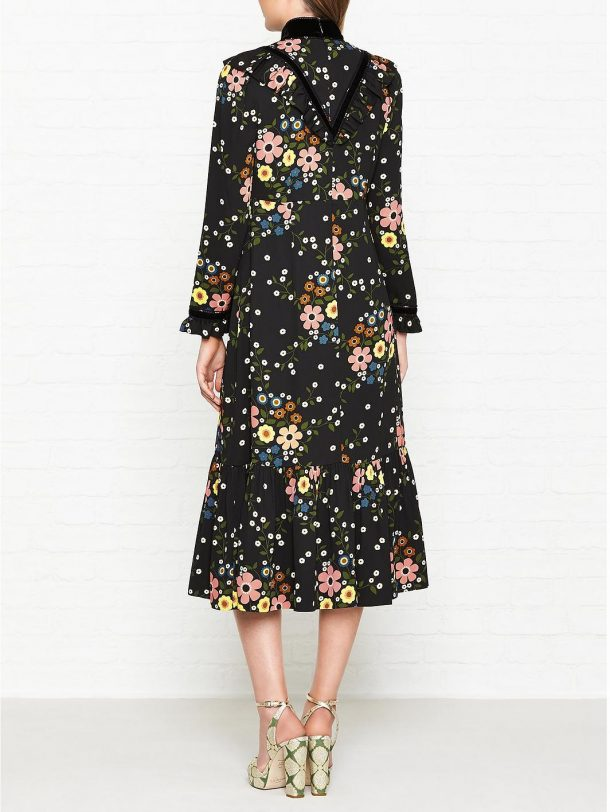 Orla Kiely X Leith Margaret Smock Dress As Worn By Kate Middleton
