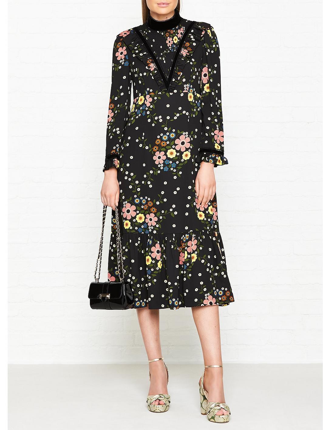 Orla Kiely x Leith Margaret Smock Dress, as worn by Kate Middleton