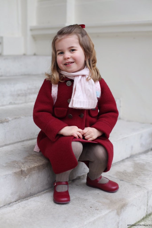 Princess Charlotte - photograph taken by the Duchess of Cambridge Kate Middleton