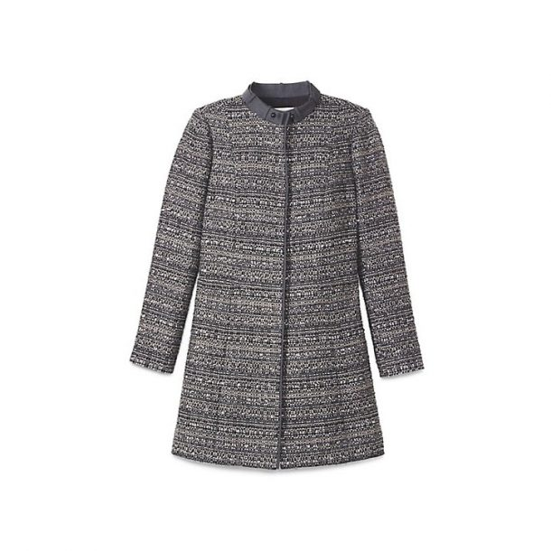 Tory Burch Bettina Tweed Coat