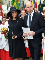 Kate wears Beulah coat for Commonwealth Celebration at Westminster Abbey.