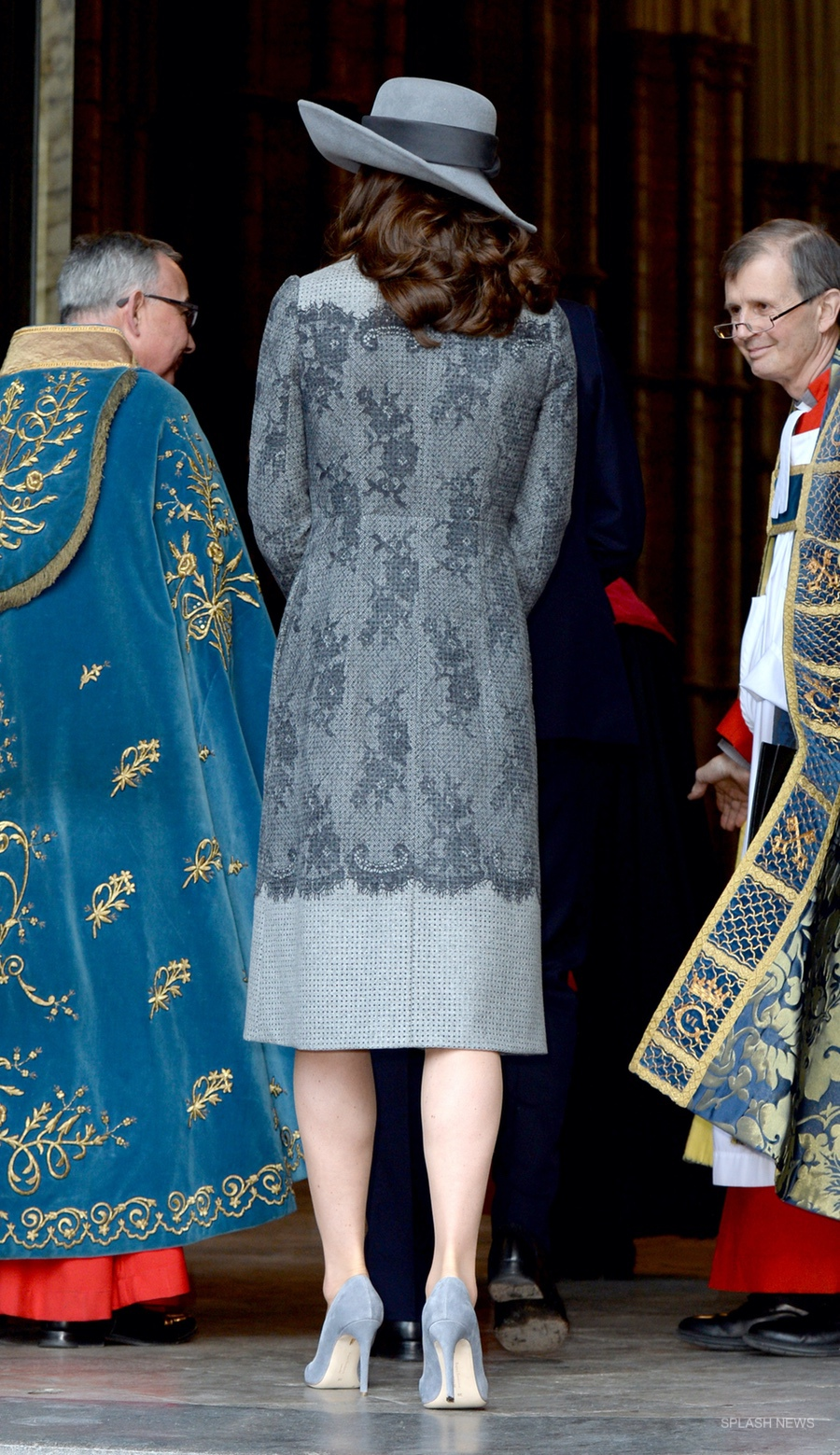 Kate Wears A Grey Erdem Coat For The 2016 Commonwealth Day Observance Service Kate Middleton