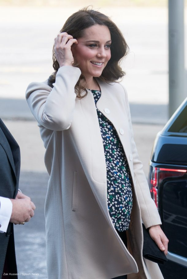 Kate Middleton wearing the Hobbs Rosie Top