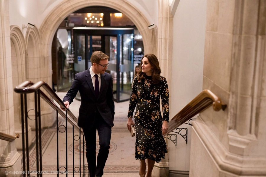 Duchess of Cambridge at the NPG