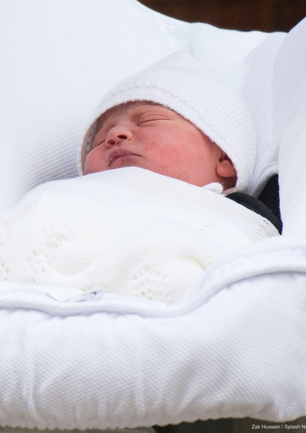 BABY NAME REVEALED:  Meet Prince Louis of Cambridge