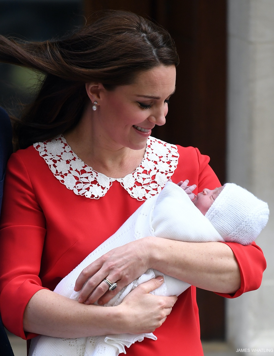 Kate Middleton and her new baby boy!