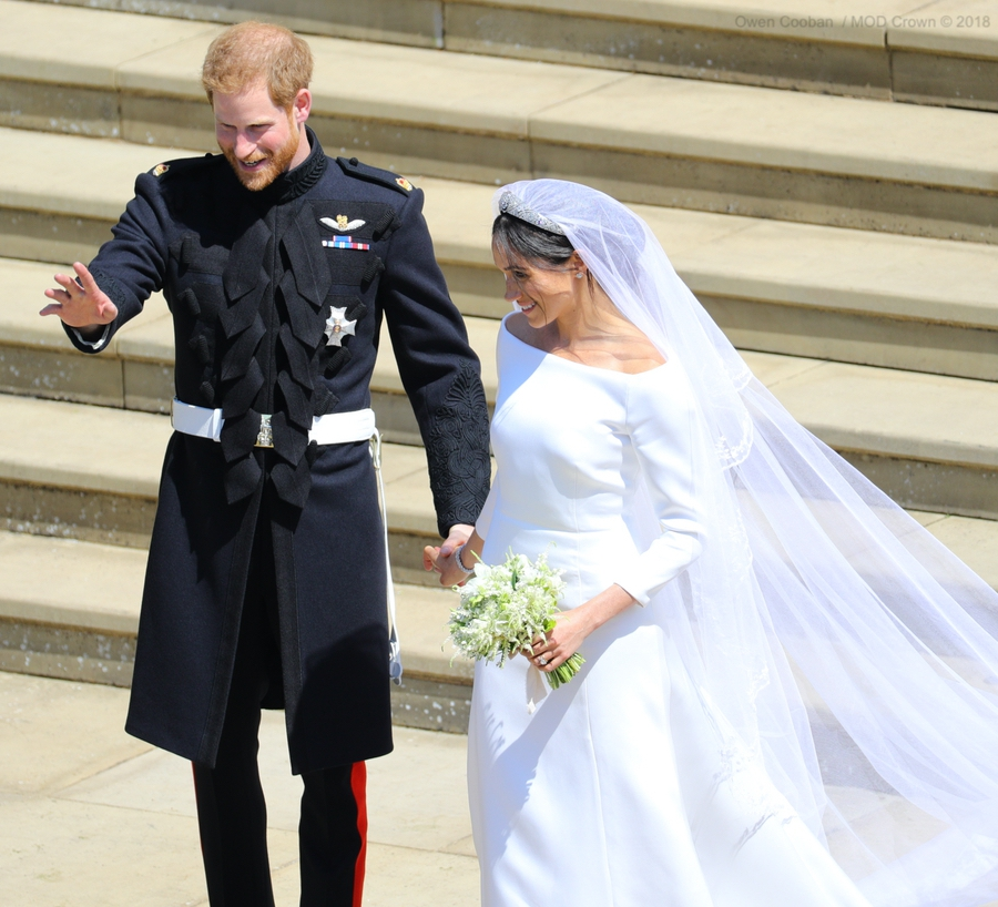 Meghan Markle's wedding gown