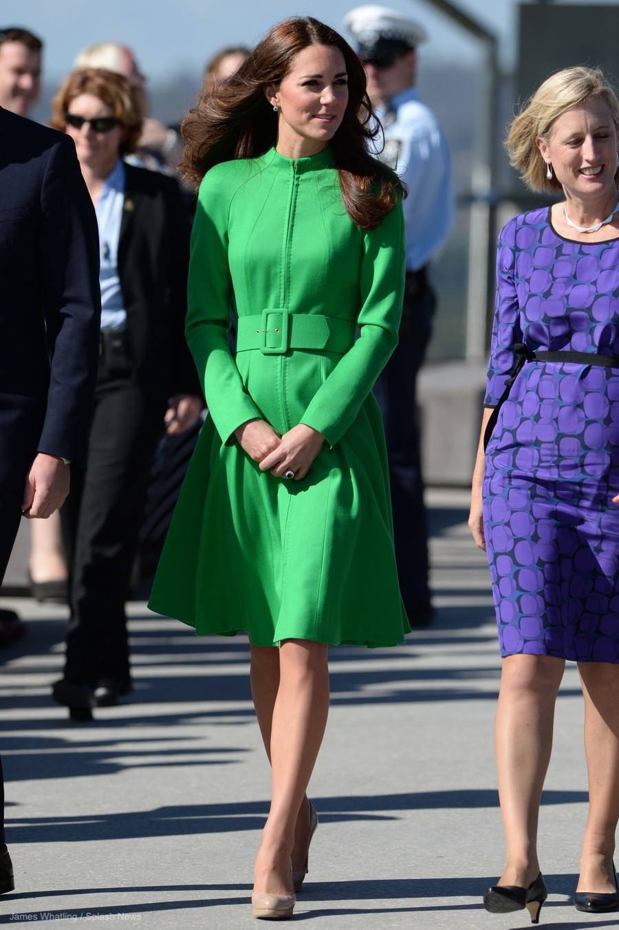 Kate Middleton visiting Canberra, Australia in 2014