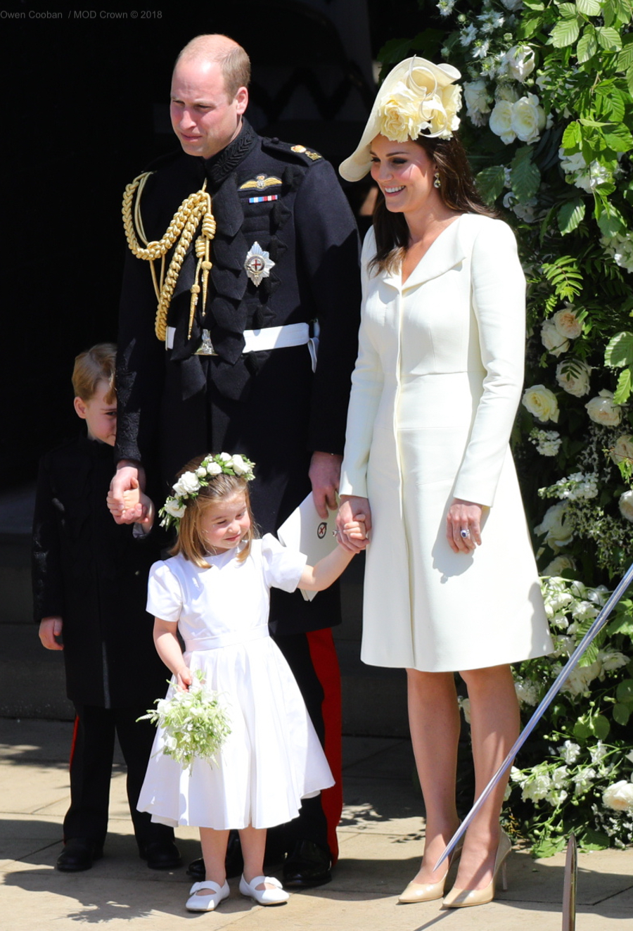 Kate Middleton's outfit from the Royal Wedding