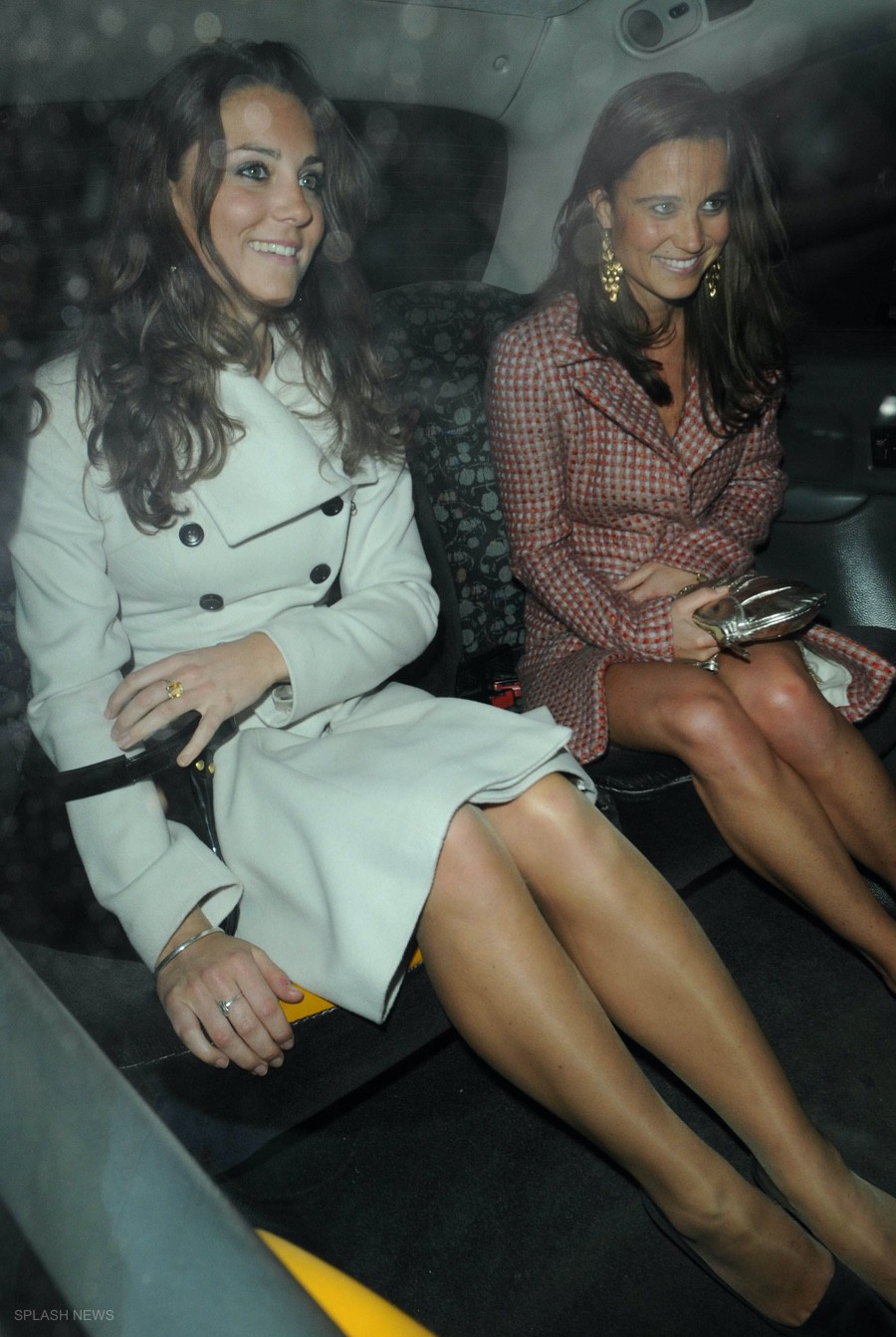 Kate Middleton and Pippa Middleton in 2008