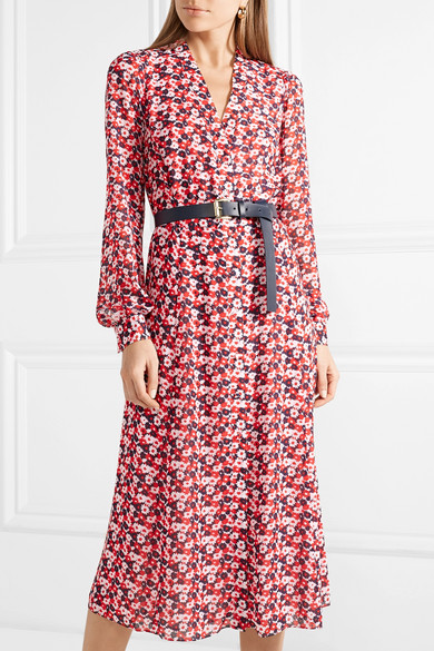 Michael Michael Kors Floral Print Dress