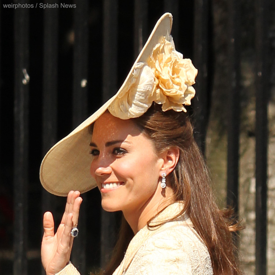Kate Middleton's hat at Mike and Zara Tindall's wedding