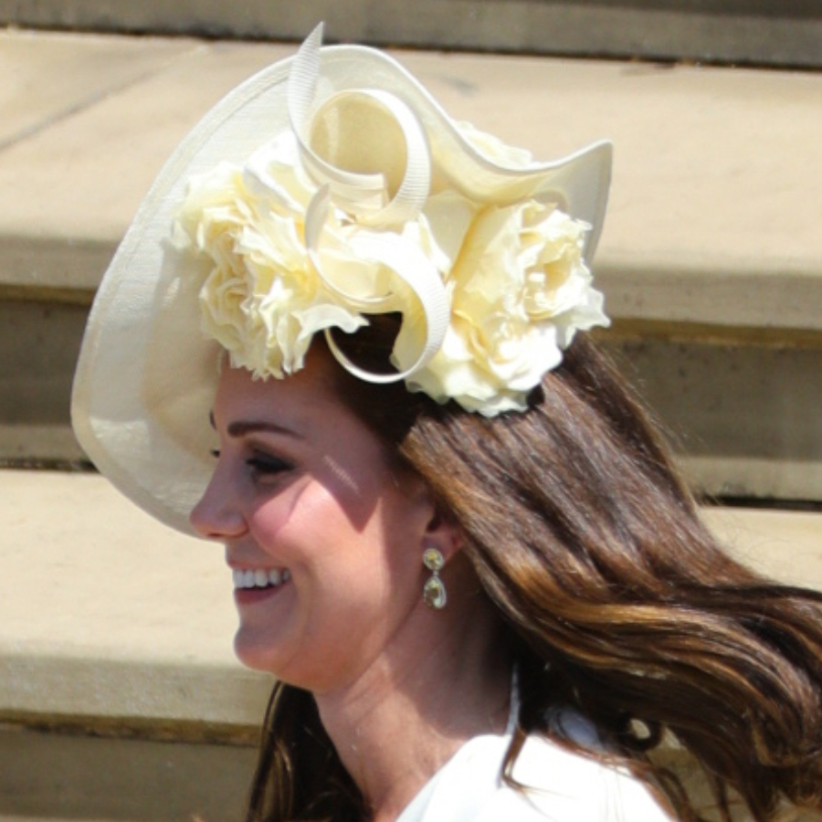 Kate Middleton's hat at Harry and Meghan's wedding